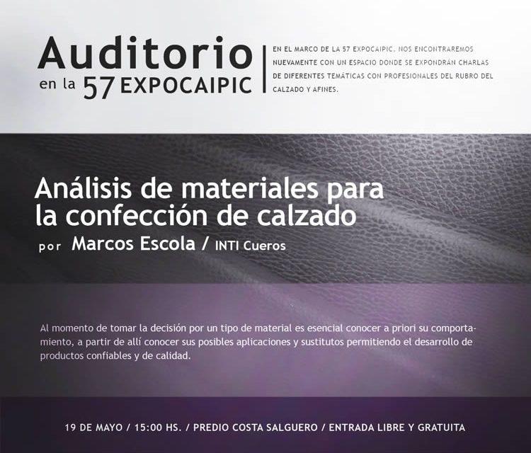 Análisis de materiales para la confección de calzado
