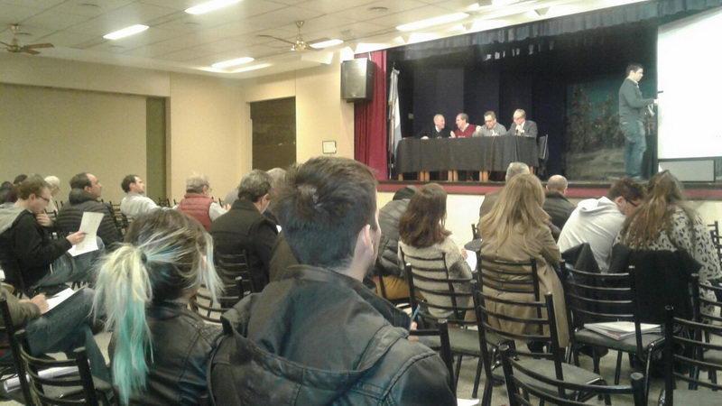 Se realizó en CAIPIC la elección de stand para la 58Xpo