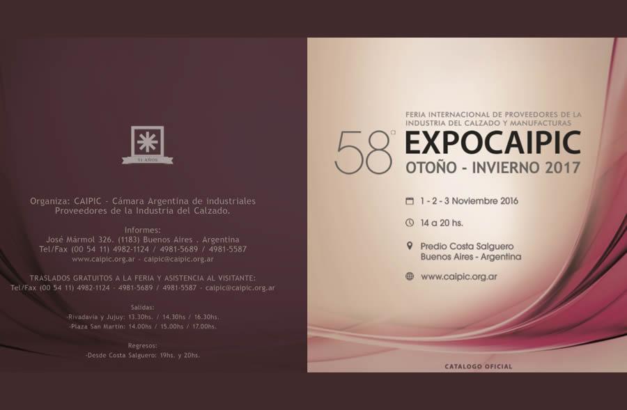 58 Expo Caipic – Catátogo Final