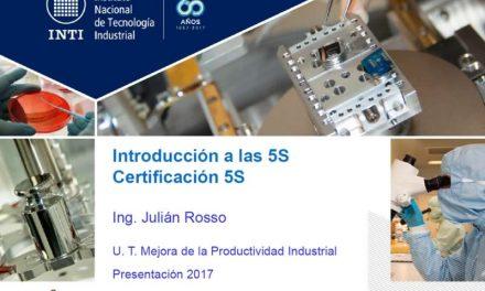 Introducción a las 5S – Certificación 5S